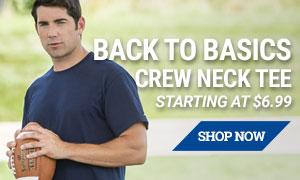 Basic Crew Neck Tee