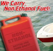 We Now Carry Non-Ethanol Fuel
