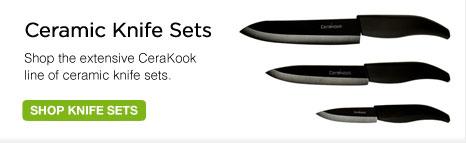 CeraKook Ceramic Knife Sets