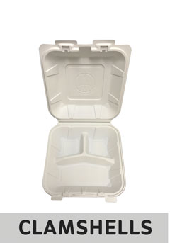 Clamshells and food service containers