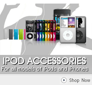 View our vast range of iPod and iPhone Accessories