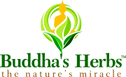Buddha's Herbs Vitamins Supplements Herbal Tea Company Logo