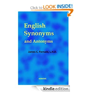 English Antonyms Dictionary free download