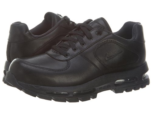 nike air max goadome low leather mens black shoes