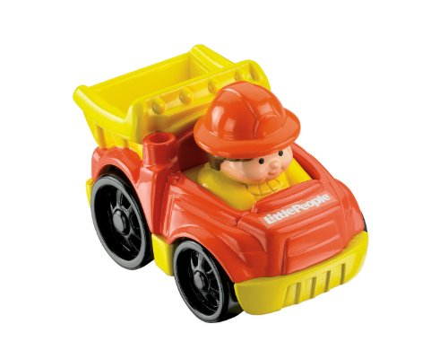 Fisher Price Little People Wheelies Vehicle DUMP TRUCK - 1