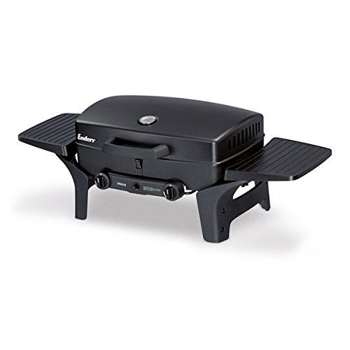 Enders Gas Tischgrill Urban 2095, vielseitiger Gasgrill für das Barbecue auf Balkon, beim Picknick oder als Campinggrill, Grill mit Edelstahl-Brenner, leicht, mobil, klein und kompakt - Profi Kompaktgrill
