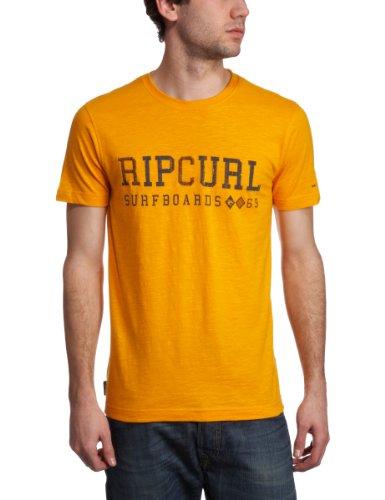 Ripcurl Silverback Shortsleeve Logo Men's T-Shirt Orange XX Large