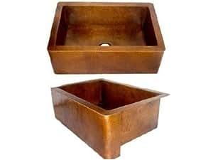 Brown Farmhouse Sink : fixtures kitchen fixtures kitchen bar sinks kitchen sinks single bowl
