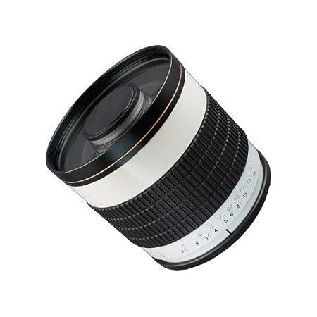 SIOCORE 500 mm mirror f6.3 Telelens d'objectif pour Pentax K à baïonnette pour Pentax K series DSLR, Samsung GX - 1L, GX - 1S, GX - 10, GX - 20, Pentax et analogues