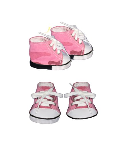 "Colored Sneakers clothes fits 12"" Snuggl'ems, 8"" - 10"" Stuffed Animal kits & most Webkinz & Shining Star animals"