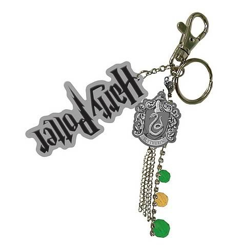 Harry Potter 'Half Blood Prince' Bag Blip/Key Ring 'Slytherin Charms'