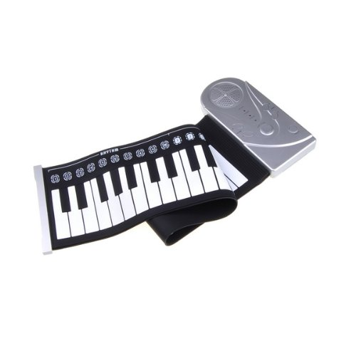 BestDealUSA Portable Flexible Roll Up Electronic Soft Keyboard Piano 49 Keys