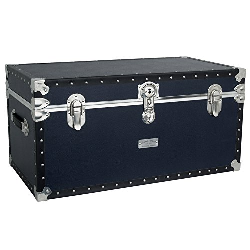seward-trunks-5330-21-tacked-footlocker-trunk-with-paper-lining-navy-blue-31-inch