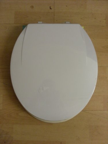 SOFT SLOW CLOSE ROUND WHITE WC TOILET SEAT NEW IN BOX