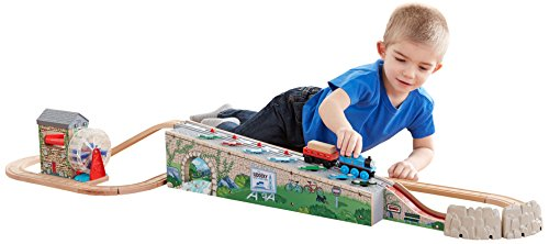 Fisher-Price-Thomas-Friends-Wooden-Railway-Musical-Melody-Tracks-Set