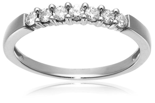 14k Gold 7-Stone Diamond Ring (1/4 cttw, H-I Color, I1-I2 Clarity)