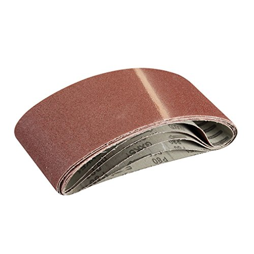 silverline-363320-5-bandes-abrasives-100-x-610-mm-grain-80