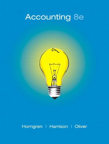 Accounting, Chapters 1-14 and  MyAccountingLab Student Access Code Card Package (8th Edition)