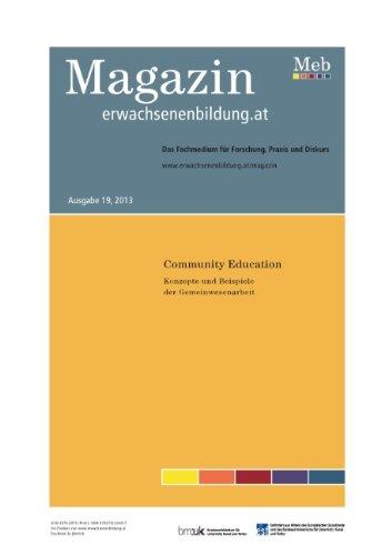 Community Education. Konzepte Und Beispiele Der Gemeinwesenarbeit (German Edition)