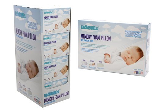 PMS Babies Memory Foam Pillow