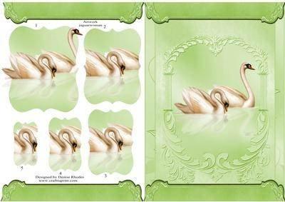 Stacker Swans Halterung Apple von Denise Rhodes