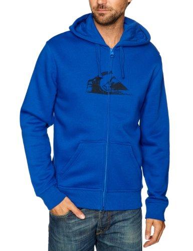 Quiksilver Hood Zip Logo-KPMSW97211 Men's Sweatshirt Cobalt Small