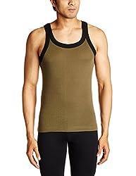 Tuna London Mens Cotton Vest (8907158018029_Miami_XL_Black / Green)