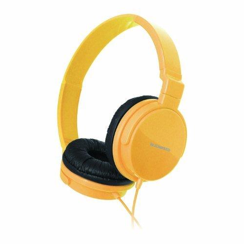 Zumreed Zum-80381 Metro Smart Stylish And Colorful Over The Ear Headphones, Yellow