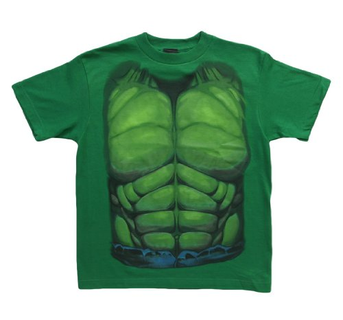 Big Boys' Youth Hulk Smash Costume T-Shirt