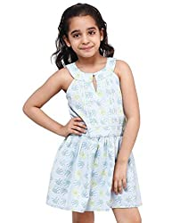 Oxolloxo Girls cotton A-line dress