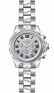 Invicta Men's 16257 Pro Diver Quartz 3 Hand Platinum Dial Watch