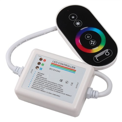 Full Touch Remote Led Controller Rgb Dc12V Plastic Shell For Led Strip