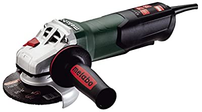 """Metabo WP9-115 Quick 8.5 Amp 10,500 rpm Angle Grinder with Non-locking Paddle Switch, 4 1/2"""" from Metabo"""