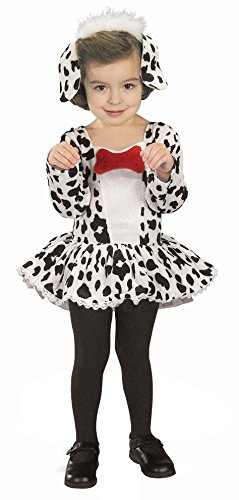 Forum Novelties Baby Girl's Dalmatian Toddler Costume