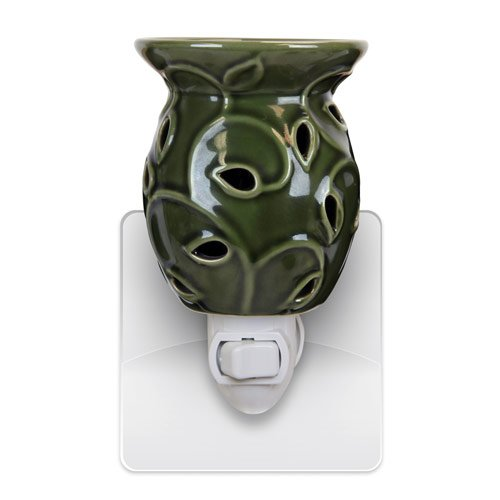 Green Plug in Ivy Candle Warmer