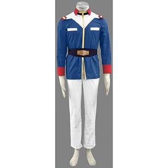 CTMWEB Gundam 0079 Cosplay Costume United Nation Troops Male Uniform X-Large