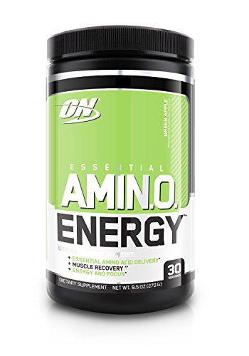 Optimum Nutrition Amino Energy, Green Apple, 30 Servings (Pre Workout Energy compare prices)
