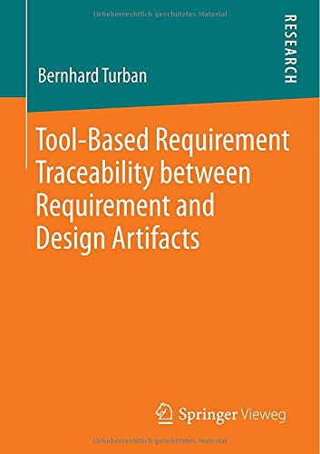 Tool-Based Requirement Traceability between Requirement and Design Artifacts