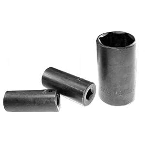 Neiko 02444 SAE Cr-V Drive Deep Impact Socket Set, 1/2-Inch, 15-Piece