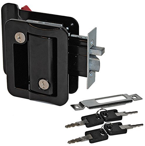 Toughgrade Tg-3 Door Latch Kit For Trailer & Rv With Deadbolt Flush Mount Universal Fit (Door Handle For Rv compare prices)