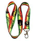 Bob Marley Lanyard Keychain Holder