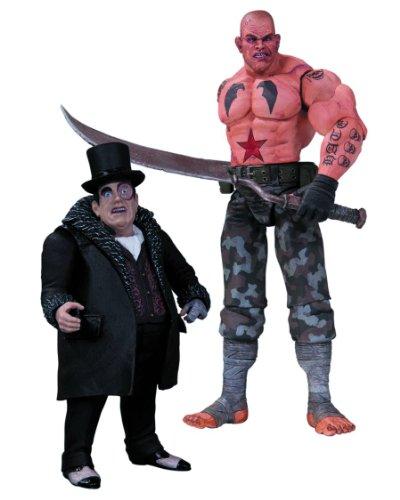 DC Direct - Batman Arkham City pack 2 figurines Sickle & Penguin 17 cm