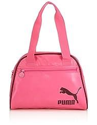 Puma Spirit Women's Handbag (Carmine Rose And Cabernet)