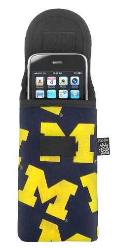 University of Michigan Phone Case Glasses Holder UM Logo Fits APPLE IPHONE TOUCH Samsung LG Nokia and more