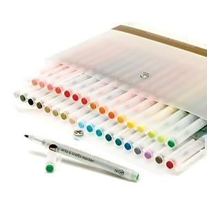 Amazon.com: Martha Stewart Crafts Arts and Crafts Marker Set, 36