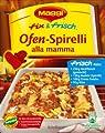 Maggi fix & frisch Ofen-Spirelli alla mamma 45g von Maggi GmbH bei Gewürze Shop