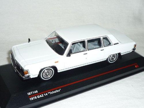 GAZ 14 Tchaika 1978 Weiss ist146 1/43 ixo ist Modell Auto Modellauto