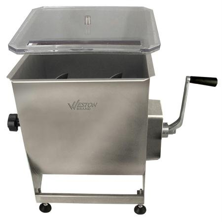 Weston 36-2001-W Stainless Steel Meat Mixer, 44-Pound