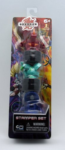 Bakugan Battle Brawlers Game Exclusive Stamper Set