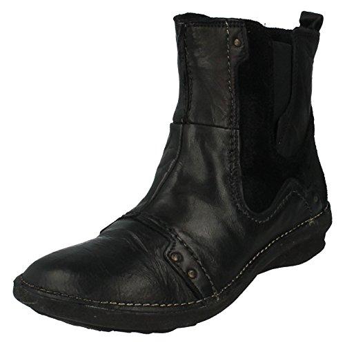 Donna Khrio Stivali alla Caviglia Stile-27146rnn, nero (Black), 42 2/3